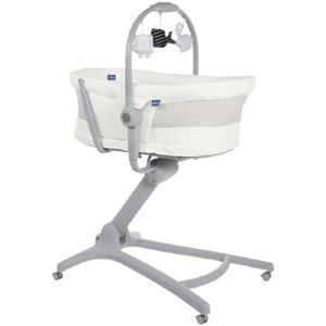 CHICCO Postieľka/lehátko/stolička Chicco Baby Hug Air 4v1 White Snow