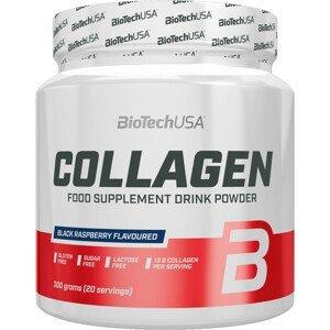 BiotechUSA Collagen 300 g - čierna malina