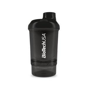 BiotechUSA Šejker Wave Ulisses 600 ml – dymový
