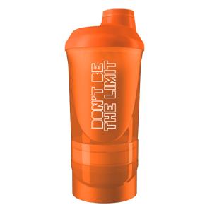 BiotechUSA Šejker Wave 600 + 350 ml – oranžový