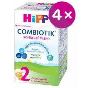 HiPP 2 BIO Combiotiknásledná mliečna výživa4x500 g (2000 g)
