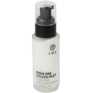 Two cosmetics Krém pre citlivú pleť s kyselinou hyalurónovou a bisabololom Two 50ml