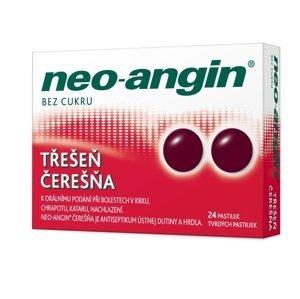 Neo-angin čerešňa tvrdé pastilky 24 ks