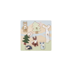 Kids Concept Puzzle drevené s úchytkami Edvin