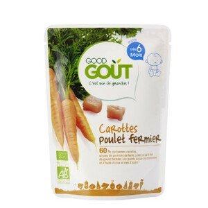 Good Gout BIO Mrkva s farmárskym kuriatkom 190 g