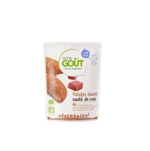 Good Gout BIO Sladké zemiaky s bravčovým mäsom 190g