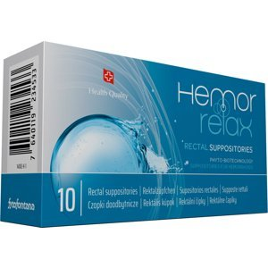 Fytofontana Hemorrelax rektálne čapíky 10ks