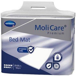 MoliCare Premium Bed Mat 9 kvapiek Absorpčné podložky 60x90cm 15ks