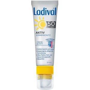 Ladival AKTIV na tvár a pery SPF 50+(2v1) 30ml + 3,2g