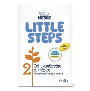 LITTLE STEPS 2,následná mliečna výživa, 600g