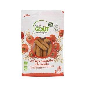 Good Gout BIO Mini bagetky s paradajkami 70g