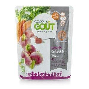 Good Gout BIO Okrúhlica s mrkvou a teľacím mäsom 220g