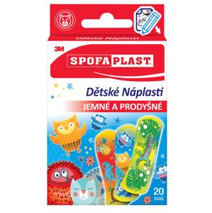 3M Spofaplast Náplasti pre deti Mix 20ks
