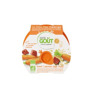 Good Gout BIO Hovädzie s mrkvou a jačmennými krúpami 220g