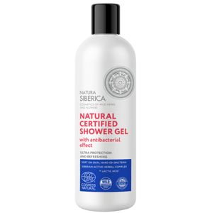 Natura Siberica Prírodný certifikovaný sprchový gél s antibakterialným účinkom 400ml