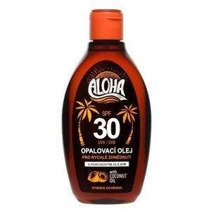 SUN ALOHA Olej na opaľovanie SPF30 s kokosovým olejom 200ml