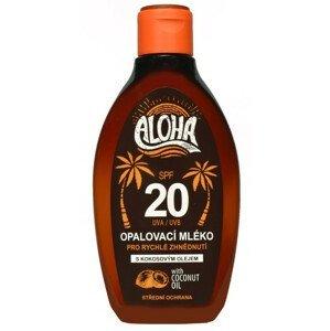 SUN ALOHA opaľovacie mlieko SPF20 s kokosovým olejom 200ml