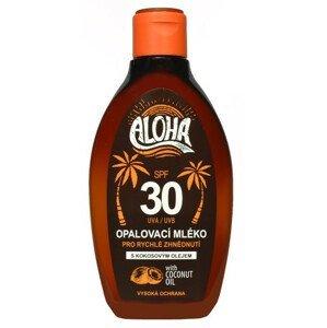 SUN ALOHA opaľovacie mlieko SPF30 s kokosovým olejom 200ml