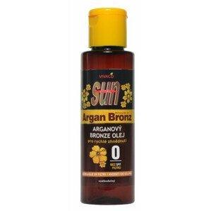 SUN ARGAN BRONZ Olej bez UV filtra s arganovým olejom 100ml