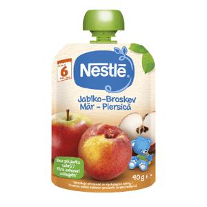 Nestlé Kapsička Jablko,Broskyňa 90g