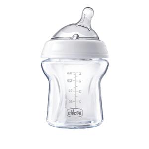 Chicco Fľaša dojčenská sklo Natural Feeling 150 ml neutral 0m+
