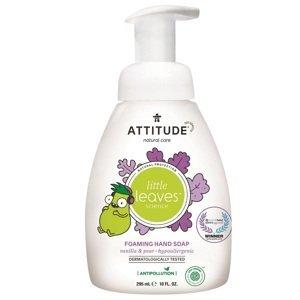 Attitude Detské penivé mydlo na ruky Little leaves s vôňou vanilky a hrušky 295ml