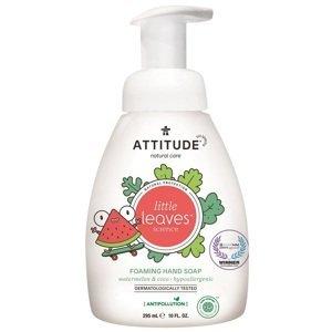 Attitude Detské penivé mydlo na ruky Little leaves s vôňou melóna a kokosu 295ml