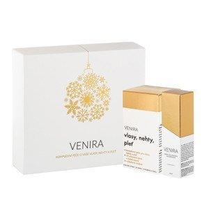 VENIRA darčekový set - 40 dňová kúra a Sérum s bio kyselinou hyalurónovou a vitamínom C 30ml
