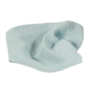 BabyMatex Prikrývka bavlnená Muslin Svetlo Tyrkysová 120x80 cm