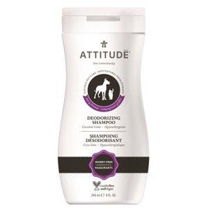 Attitude Prírodný, zápach odstraňujúci šampón pre domácich miláčikov 240ml