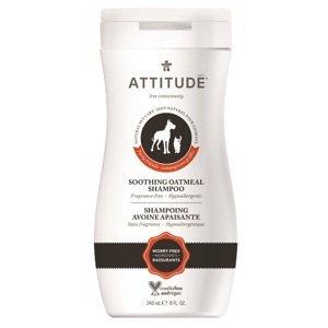 Attitude Prírodný upokojujúci šampón s ovsom pre domácich miláčikov 240ml
