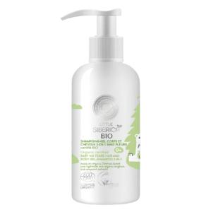 Natura Siberica Little Siberica organický certifikovaný gél-šampón pre deti bez sĺz 2v1 250ml