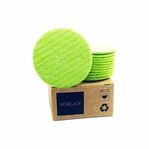 More Joy kozmetický tampón 12ks zelený