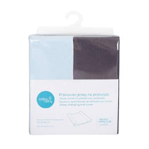 CEBA Poťah na prebaľovaciu podložku 50x70-80cm Dark Grey+Blue 2ks