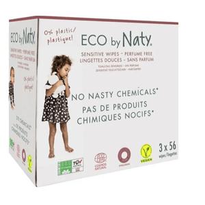 Naty Nature Babycare Obrúsky vlhčené detské 3x56ks