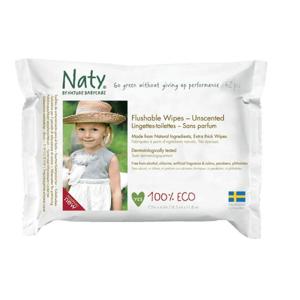 Naty Nature Babycare Obrúsky vlhčené toaletné Eco 42ks