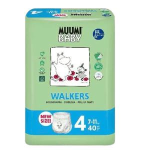 Muumi Nohavičky plienkové jednorázové 4 Maxi 7-11kg 40ks