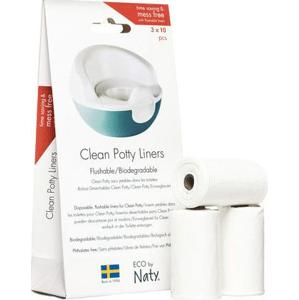 Naty Nature Babycare Vrecúška do nočníka jednorázové 10x3ks