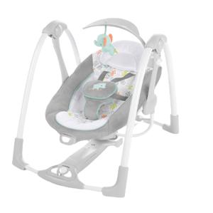 Ingenuity Hojdačka konvertibilná s adaptérom vibrujúca s melódiou Wimberly™ 2v1 0m+, do 9kg