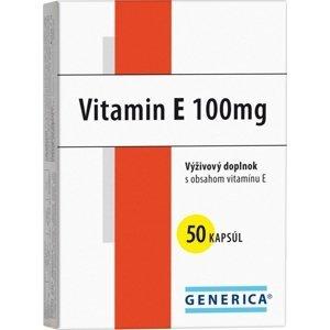 GENERICA VITAMIN E 100 I.U. 50 cps
