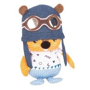 Tots Plyšová hračka so sadou samolepiek s písmenami, Veverička 1ks