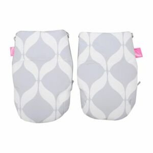Motherhood Rukavice na kočík Softshell Classics Grey 1 pár