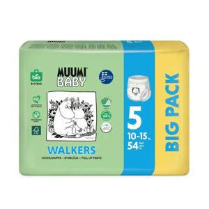 Muumi Nohavičky plienkové jednorázové 5 Maxi+ 10-15kg 54ks