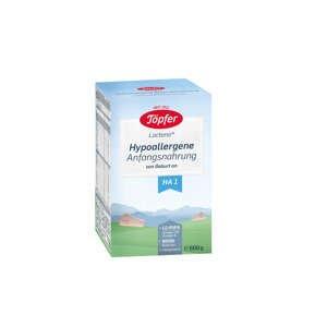 Töpfer Lactana H1 počiatočná výživa, hypoalergénne mlieko od narodenia 600 g