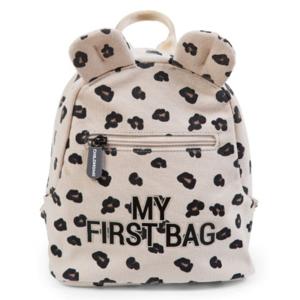 Childhome, Detský batoh My First Bag Canvas Leopard