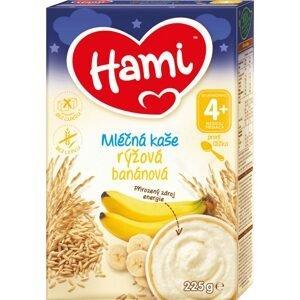Hami Mliečna kaša ryžová banánová 225g