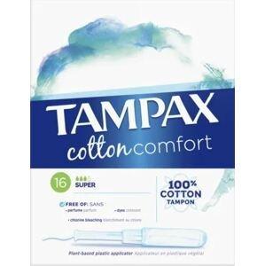 Tampax Cotton Super 16ks