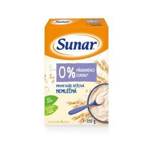 Sunar Prvá kaša ryžová nemliečna, od ukončeného 4. mesiaca 220g