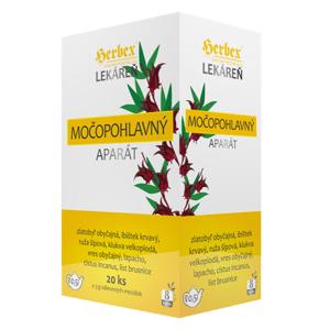 Herbex Močopohlavný aparát Bylinný čaj porciovaný 20x3g (60g)
