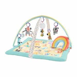 SKIP HOP Deka na hranie 5 hračiek, vankúšik ABC & ME 0m+ 1ks
